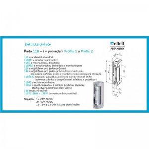 El. otvírač 118 A71 10-24V A/D