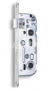 01-16 - Zámek zadlabací obyčejný, bez převodu - WC zámek, spodní ořech 6x6 mm