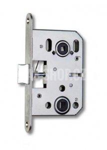 K 053 - Zámek zadlabací pouze se střelkou, WC zámek, spodní ořech 6x6 mm