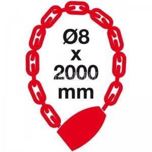 Řetězový zámek RR.4838.8x2000.CRN